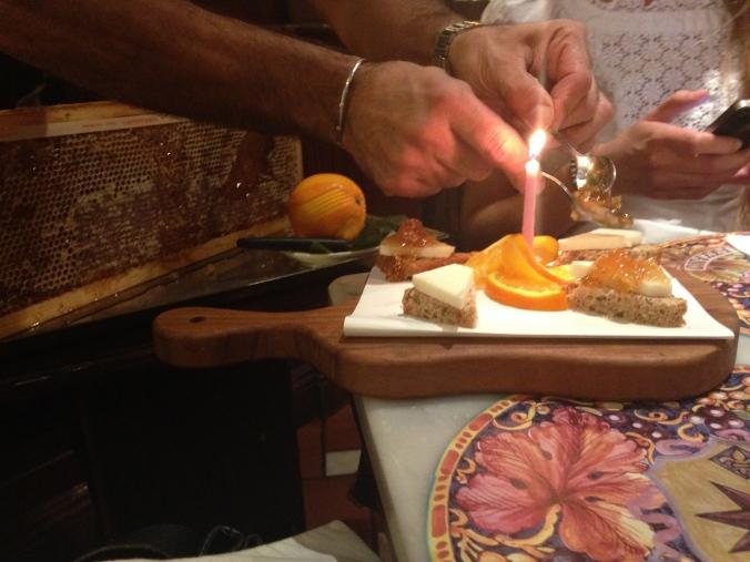 Pecorino med Färsk Honung