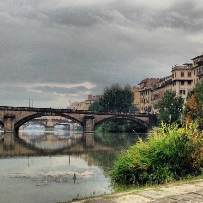 Florens, arno, italien, res till florens